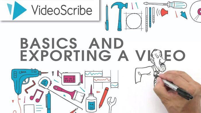Bạn cần nắm vững các tính năng cơ bản của phần mềm Videoscribe