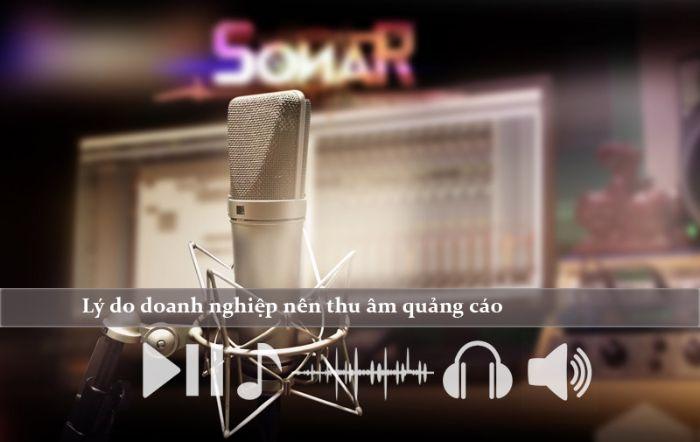 Thu âm quảng cáo mang đến nhiều lợi ích cho doanh nghiệp